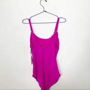 Calvin Klein Swim - Calvin Klein Hot Pink One Piece Bathing Swim Suit